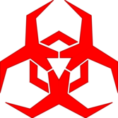 Malware Hazard Symbol - Red