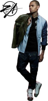 CHRIS BROWN COMPLETO PSD