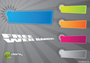 Bright Web Banners