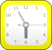 Table clock, Time to wake up
