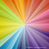 Colored Sunburst Background