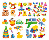 Vector Cartoon Toys