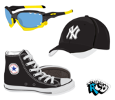 Fashion Stock Free Vector - Shoes, Sunglasses, Hat