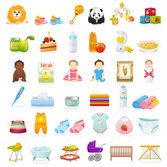 Beautiful toys for children vector-2