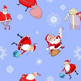 Roztomilý Santa Claus Wallpaper