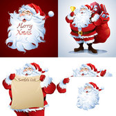 Cartoon Santa Pictures
