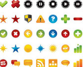 48 Web Icons Set
