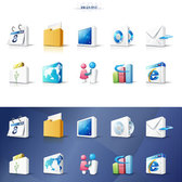 3D Office icons