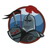 KNIGHT VECTOR CLIP ART GRAPHICS.eps