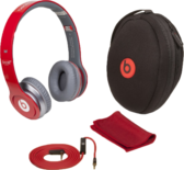 Red Solo Beats by Dre PACK PSD
