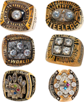 Steelers Super Bowl Rings PSD