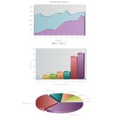 BUSINESS CHARTS VECTOR IMAGE.eps