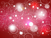 Red Background with Swirls and Lights