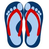 FLIP-FLOPS VECTOR DRAWING.ai