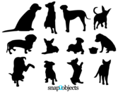 Free Dog Vector Silhouettes