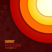 Abstract summer sun background