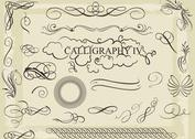 Free Vector Calligraphy Pack