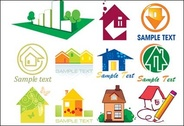 More than fifty forms house vector icon