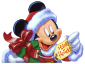 Mickey Mouse Christmas PSD