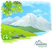 Free Cartoon landscape