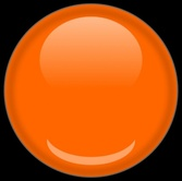 Shiney Red Disk Circle Orb