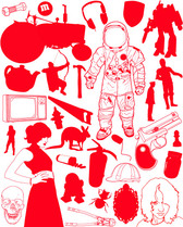 Astronaut, Characters, Design Elements