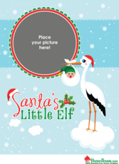 Note to Elf: Grab These Free Royalty-Free Christmas Baby Vectors Now