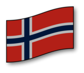 clickable Norway flag