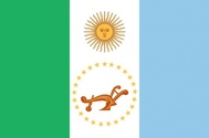 Flag Of Chaco Province In Argentina