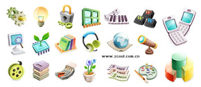 Cute Exquisite Three-Dimensional Icon Vector Graphic-2