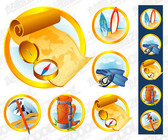 Vector Graphic Supplies Outdoor Icon