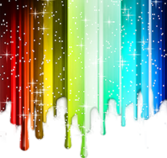 SPARKLE RAINBOW PSD
