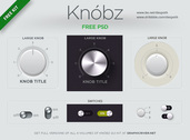 Knbz Knobs UI Kit PSD
