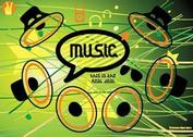 Music Speaker Vector Icons