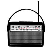 Free Retro Radio Vector Art
