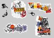Movement And The Street Culture Vector Graphic-20