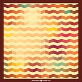 Zig zag retro background pattern