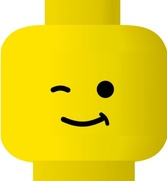 Lego Smiley Wink