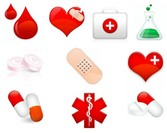 11 Medical Related Icons Set PNG