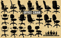 19 Office chairs