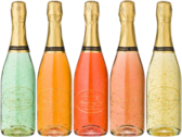 Bottles of Champagne PSD