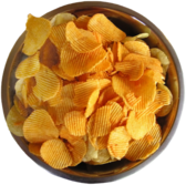 Chips In Bowl PSD