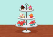 Little Cupcake Stand