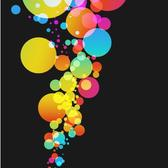 COLORFUL BALLOONS VECTOR.eps