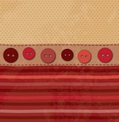 Trendy Fabric & Buttons