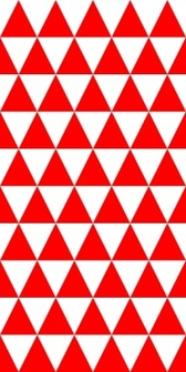 Triangles Equal 2 Pattern