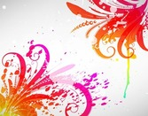 Free Abstract Colored Design