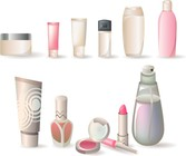 A Variety Of Cosmetic Bottles