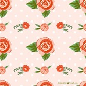 Seamless rose design