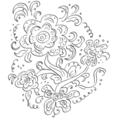 Russian Floral Pattern
